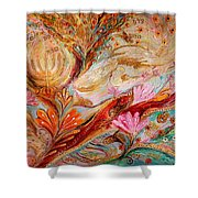 72 Names Shower Curtain