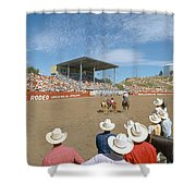 75th Ellensburg Rodeo, Labor Day Shower Curtain