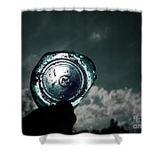 A Look Through Time Shower Curtain