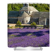 Abbaye De Senanque Shower Curtain