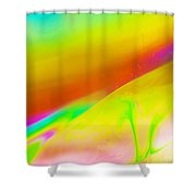 Abstract Colours. Shower Curtain
