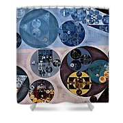 Abstract Painting - Nero Shower Curtain