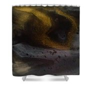 Abstract Resin Pour Shower Curtain by Sonya Wilson