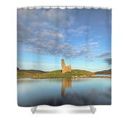 Ardvreck Castle - Scotland Shower Curtain