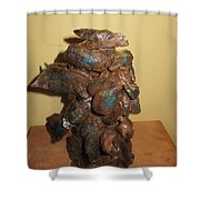African Mermaid Shower Curtain