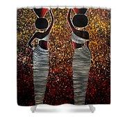 African Women Shower Curtain