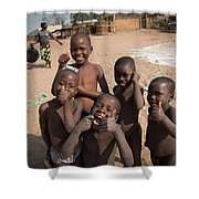 Africa's Children Shower Curtain