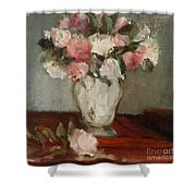 After Manet Shower Curtain