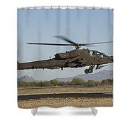 Ah-64d Apache Longbow Lifts Shower Curtain