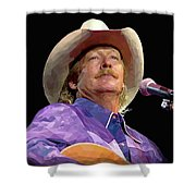 Alan Jackson Shower Curtain