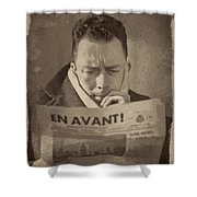 Albert Camus 1 Shower Curtain