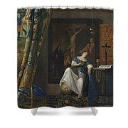 Allegory Of The Catholic Faith Shower Curtain