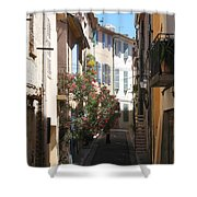 Alley - Provence Shower Curtain