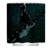 American Horror Story Asylum 2012 Shower Curtain