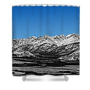 Anaktuvuk Pass Alaska Shower Curtain