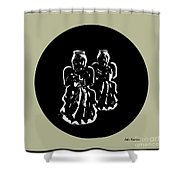 2 Angels Shower Curtain