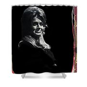 Angie Dickinson Young Billy Young 7 Old Tucson Arizona 1968-2013 Shower Curtain
