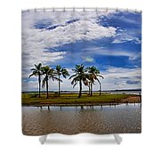 Animal Reserve Of Cuare Shower Curtain