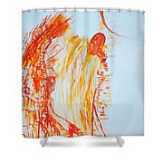 Annunciation  Shower Curtain