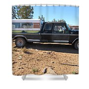 Antique Ford Truck Shower Curtain