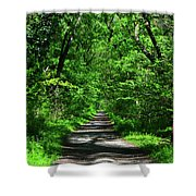 Appalachian Trail In Maryland Shower Curtain