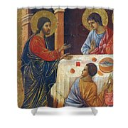 Appearance Of Christ To The Apostles Fragment 1311  Shower Curtain