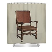Armchair Shower Curtain