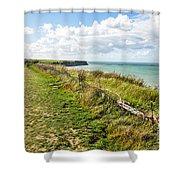 Arromanches 360 Shower Curtain