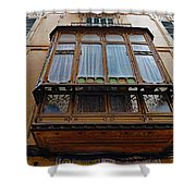 Artistic Architecture In Palma Majorca Spain Shower Curtain
