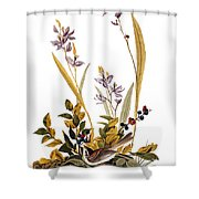 Audubon: Sparrow, 1827-38 Shower Curtain
