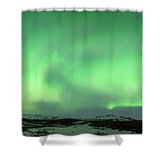 Aurora Borealis Or Northern Lights. Shower Curtain