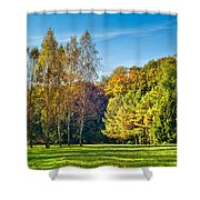 Autumn Colors Of Nature Shower Curtain