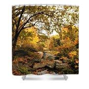 Autumn Garden Shower Curtain