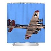 B-17 Bomber Shower Curtain
