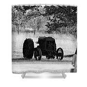 B/w130 Shower Curtain