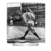 Babe Ruth Shower Curtain