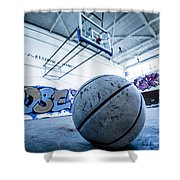 Ball Is Life Shower Curtain