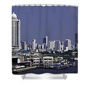 Bangkok Thailand Shower Curtain