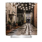 Bank Street Downtown Bristol Shower Curtain