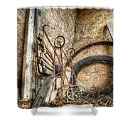 Barn Decor Shower Curtain