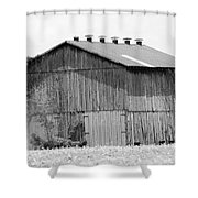 Barn In Kentucky No 71 Shower Curtain