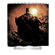 Batman Begins 2005 Shower Curtain