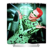 Batman Forever 1995  Shower Curtain