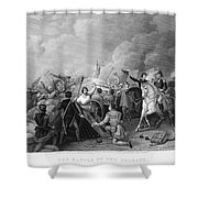Battle Of New Orleans Shower Curtain by Granger