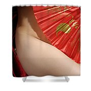 Beautiful Naked Woman Shower Curtain