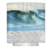 Beautiful Wave Breaking Shower Curtain
