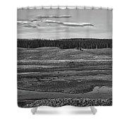 Beautiful Yellowstone Shower Curtain