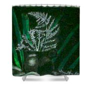 Beauty In Darkness Shower Curtain