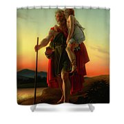 Belisarius Shower Curtain