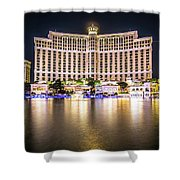 Bellagio Hotel On Nov, 2017 In Las Vegas, Nevada,usa. Bellagio I Shower Curtain
